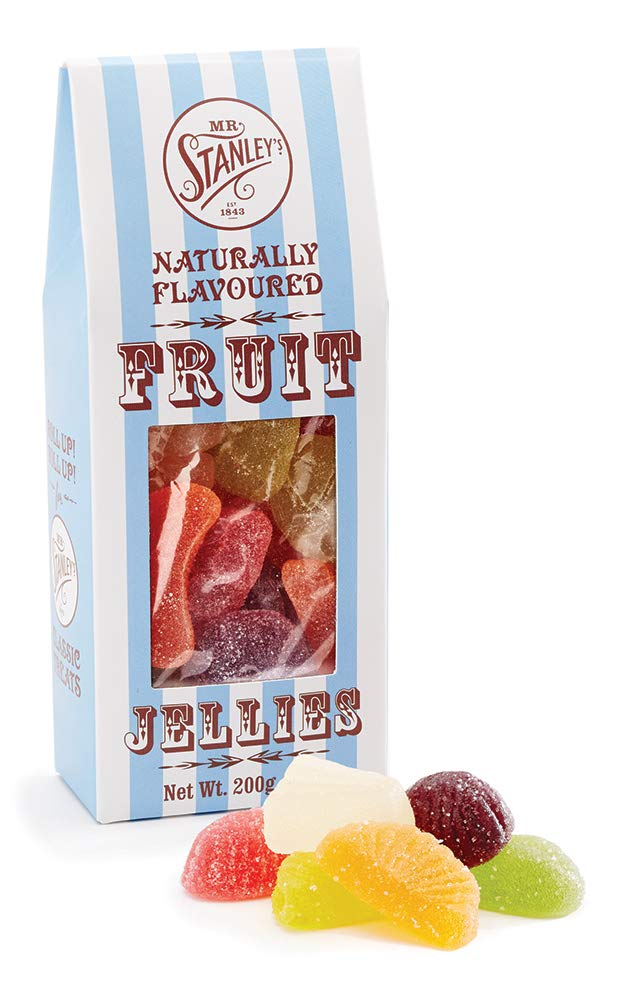 Mr Stanley's Fruit Jellies Gift Box 2 x 200g Packs