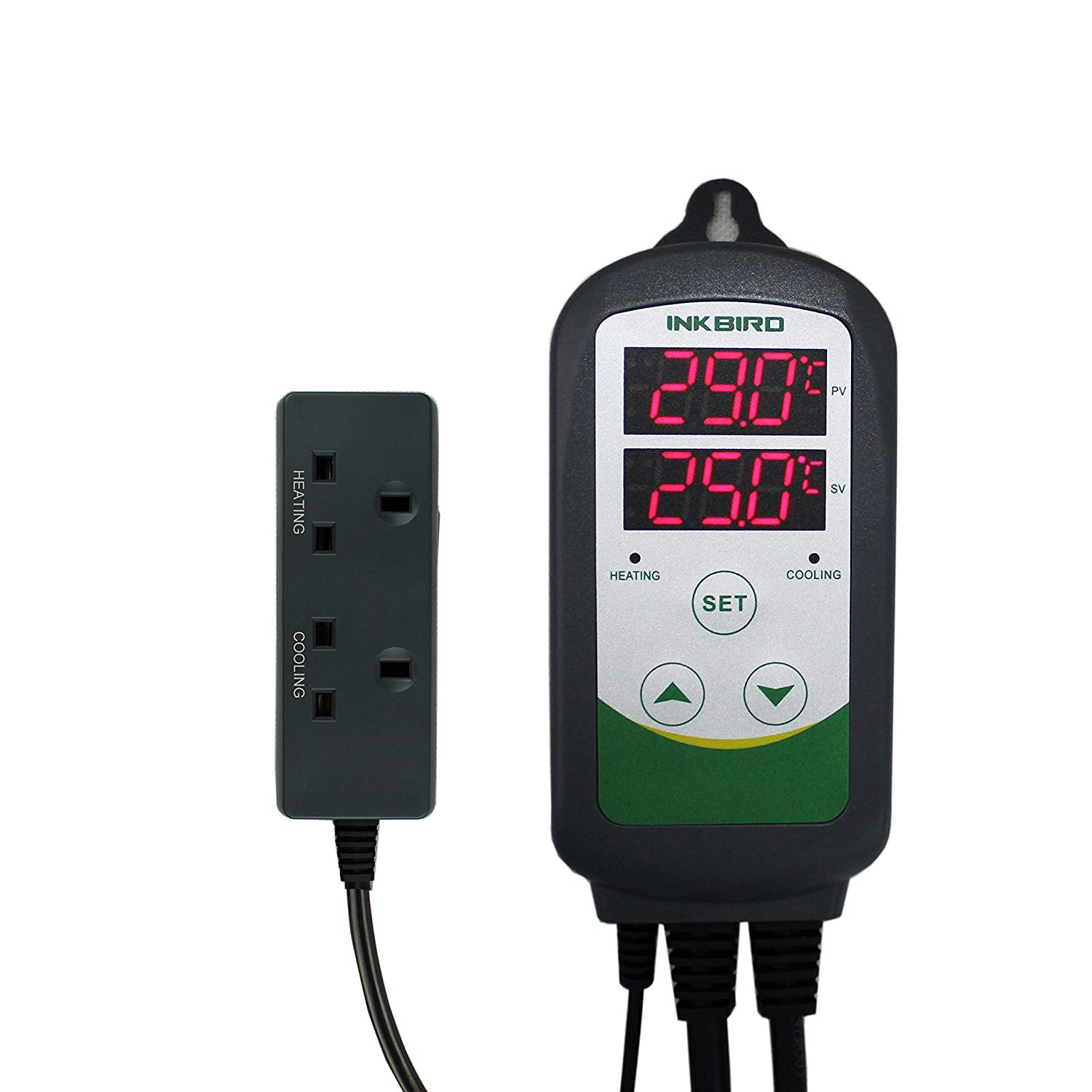 Inkbird ITC-308 Digital Temperature Controller Thermostat Regulator UK Socket