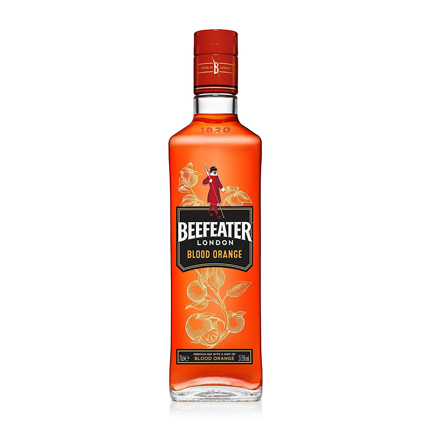 Beefeater Blood Orange Flavoured Gin, 70 cl