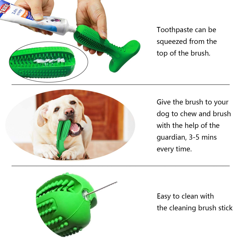 Bogeer Dog Dental Sticks Dog Toothbrush Stick Dog Tooth Cleaning