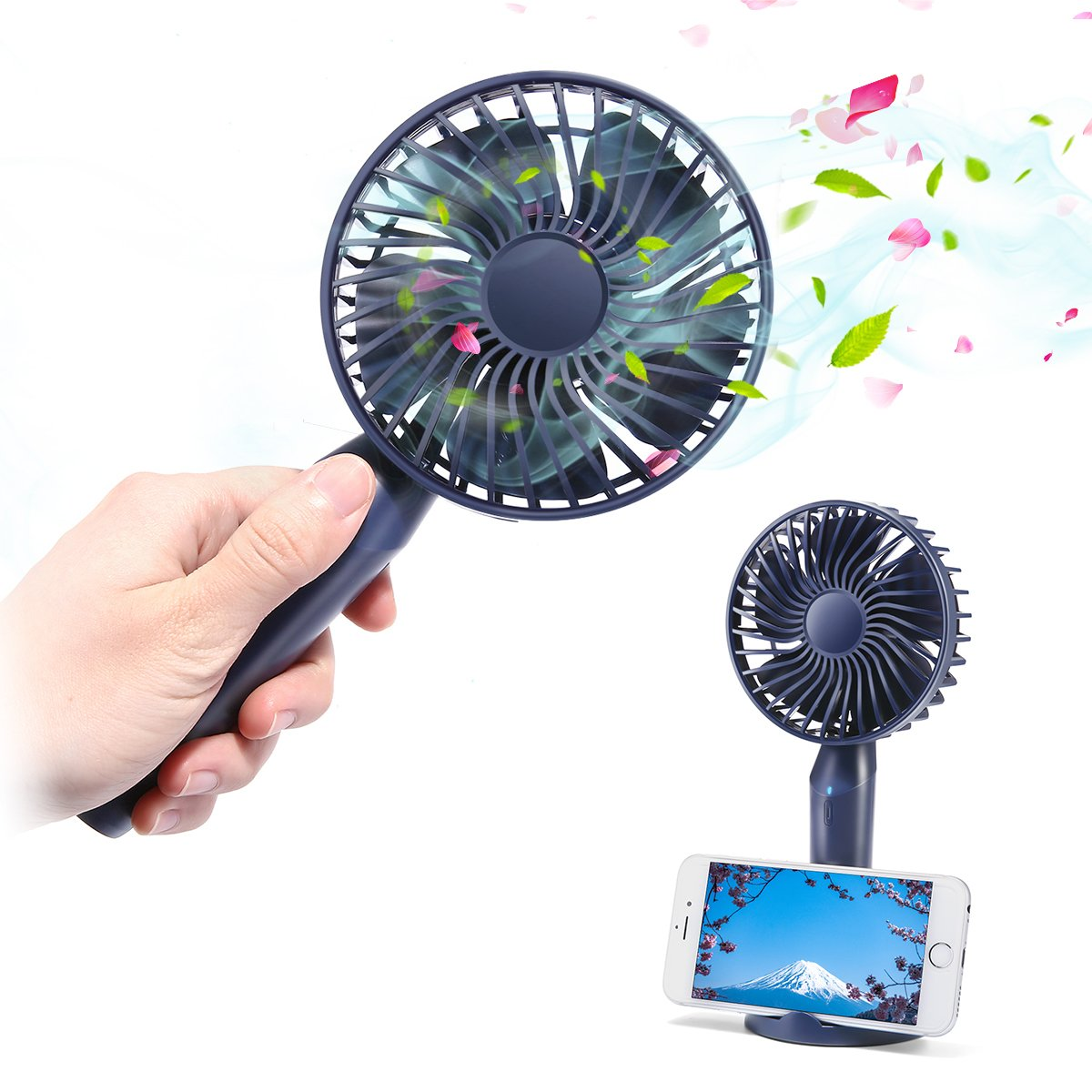 MECO ELEVERDE Handheld USB Fan Mini Portable Fan