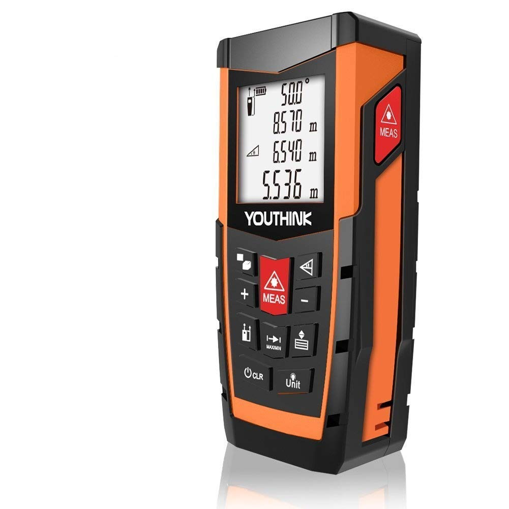 YOUTHINK Laser Measure 328Ft Portable Laser Distance Meter