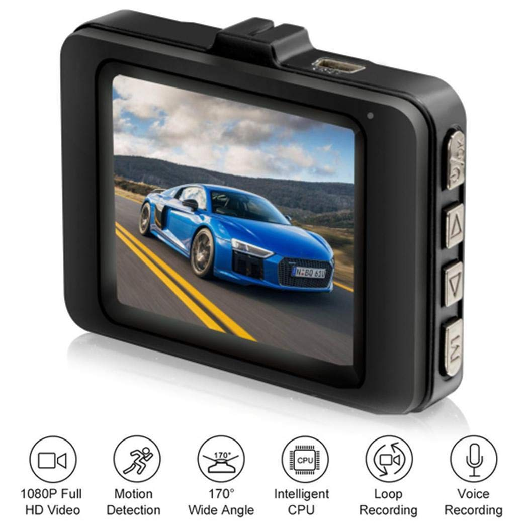 80% off Sikena HD 1080P Multi-function Mini Driving Recorder 2.2 inch Display Screen Car Driving Recorders