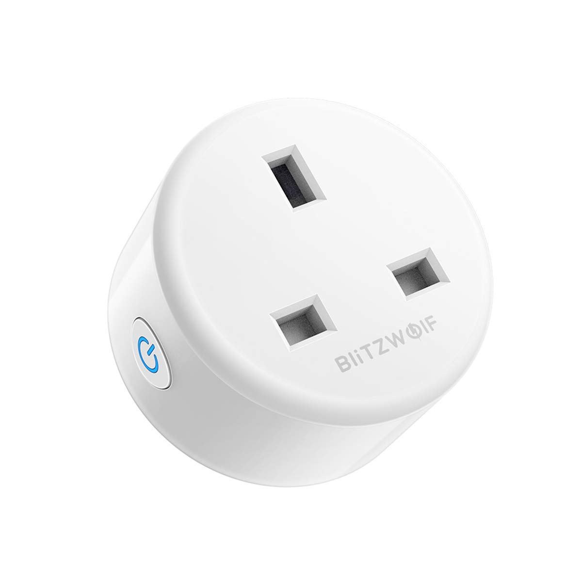 BlitzWolf Smart Plug Wifi Outlet Mini Plug Compatible with Amazon Alexa Google Home