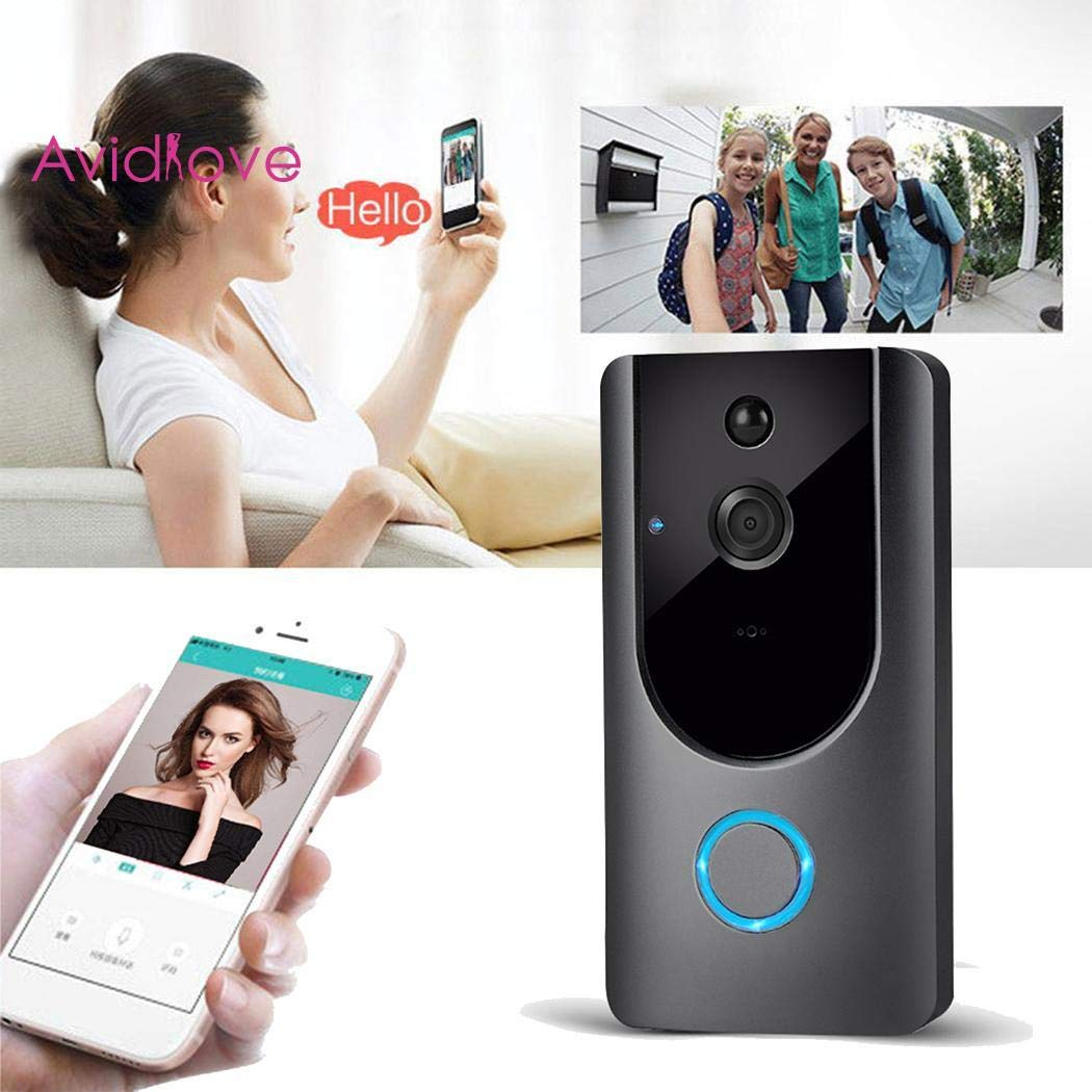 Haonike M2 Wireless Visual Smart Doorbell Alarm Wifi Mobile Phone Remote Monitoring Door Chimes & Bells