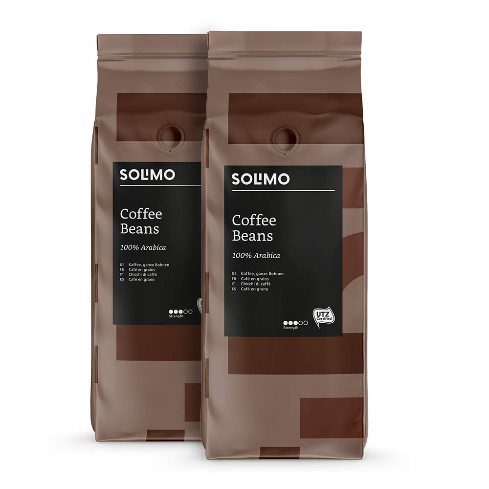 Amazon Brand Solimo Coffee Beans 2 kg (2 x 1kg)