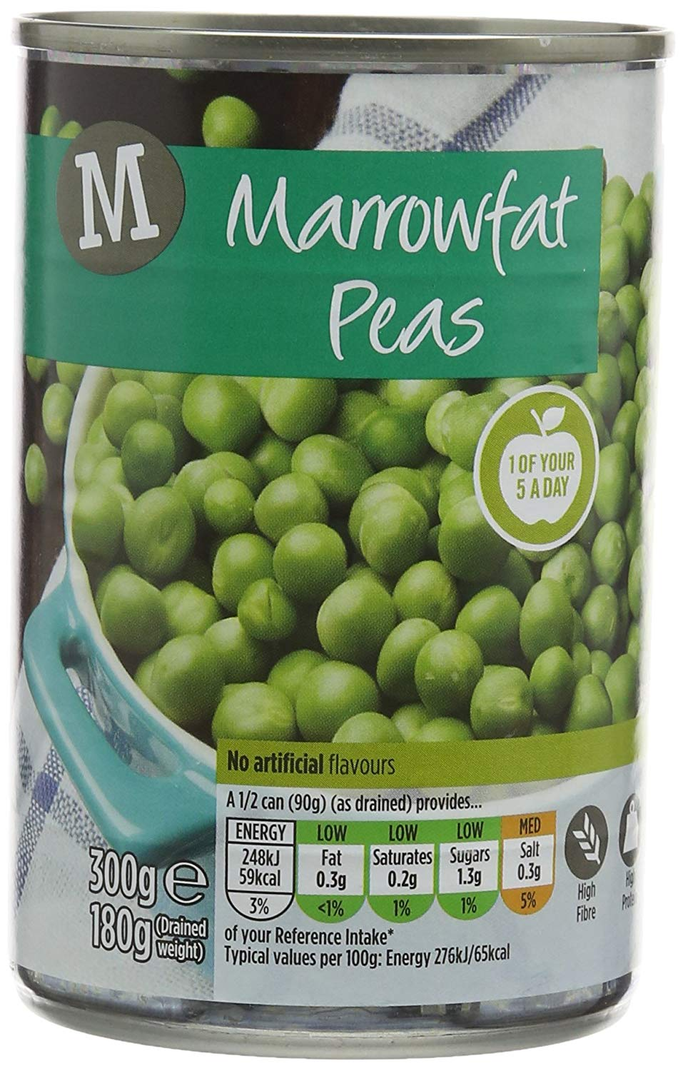 Best Price! Morrisons Marrowfat Peas,  Pack of 24