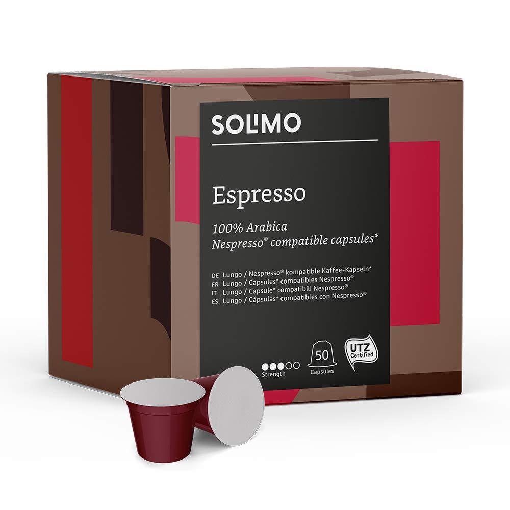Compatible Espresso capsules – 100 capsules (2 x 50)
