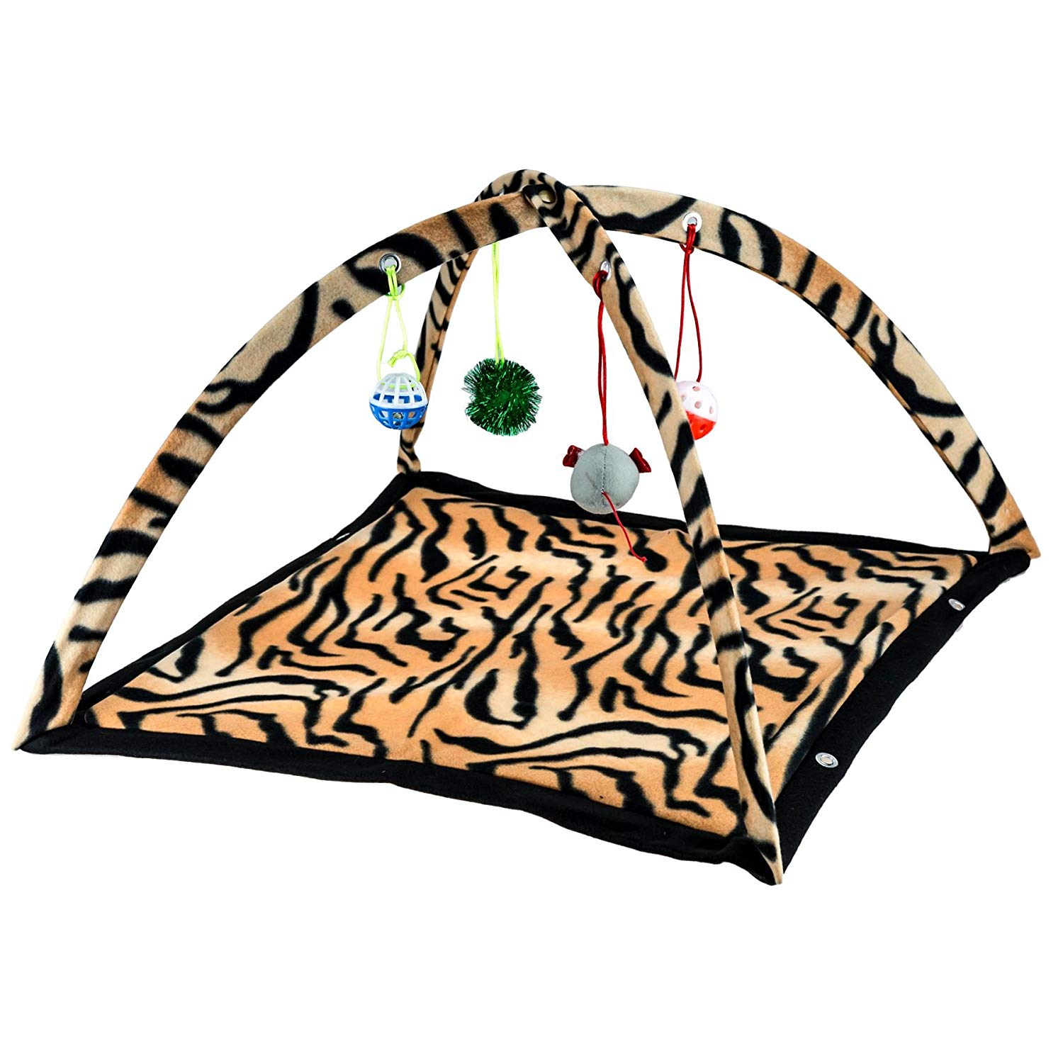 Pet Cat Kitten Activity Play Tent