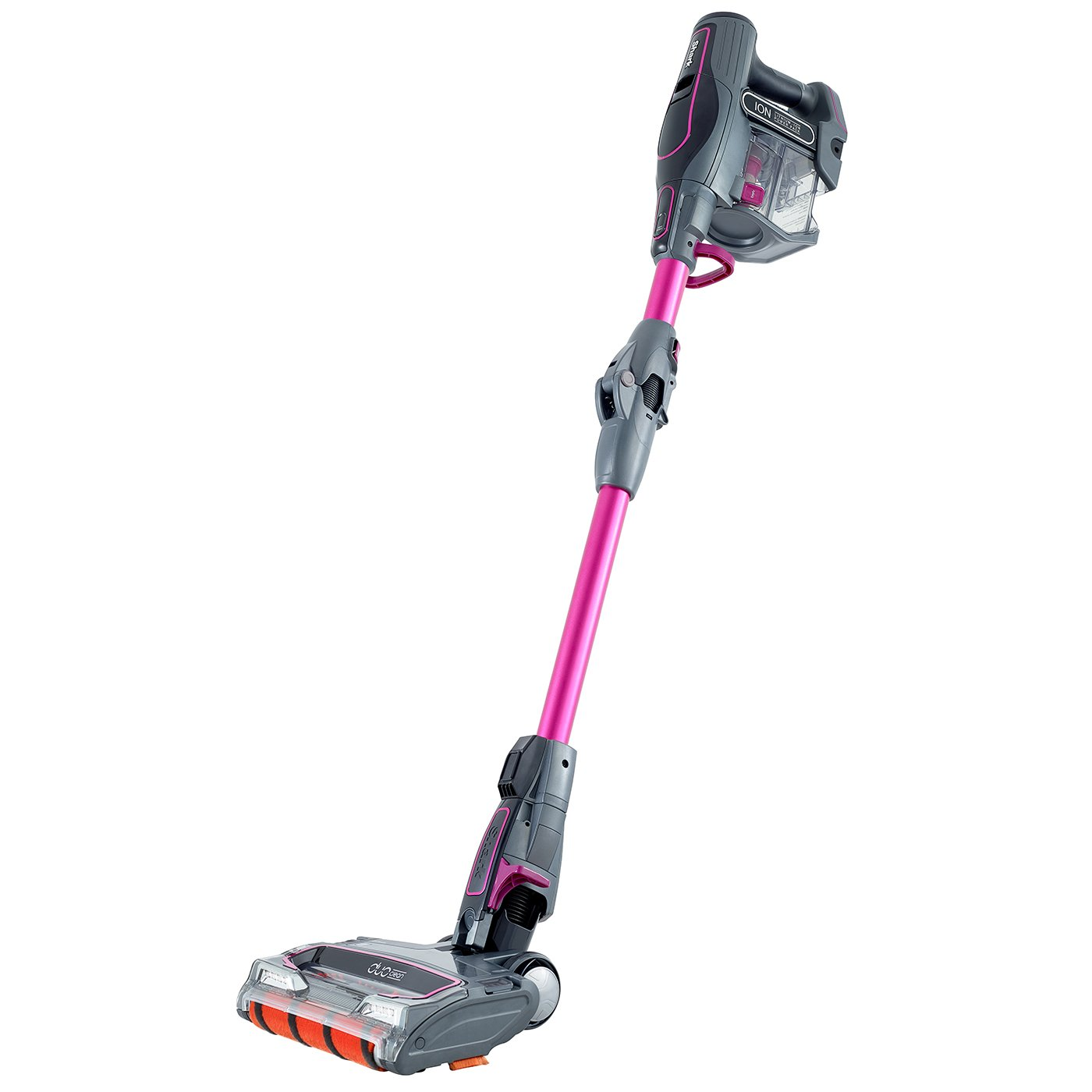 Shark Cordless Stick Vacuum Cleaner Single Battery, Pink