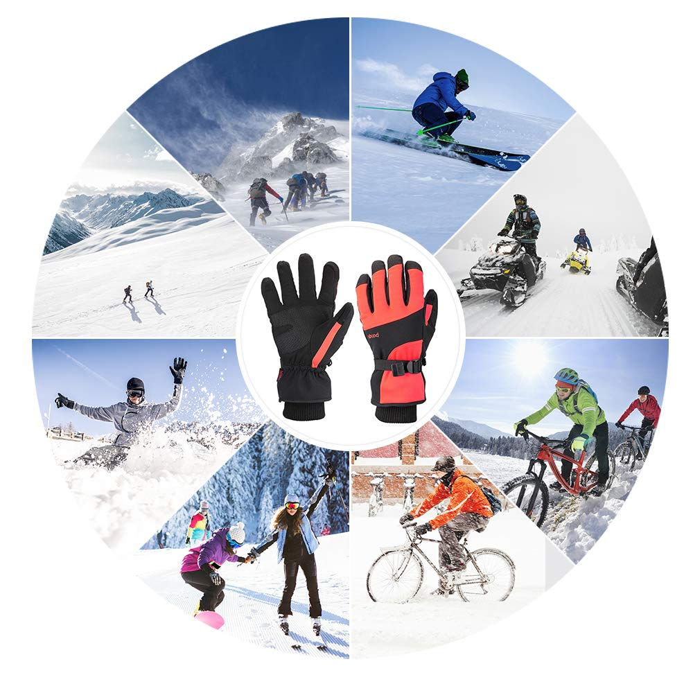 Issyzone Full Finger Gel Cycling Gloves