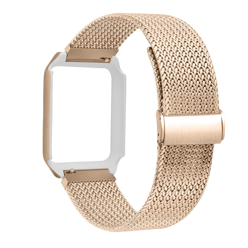 ALNBO Compatible Watch Strap 38mm 42mm Stainless Steel Replacement Strap
