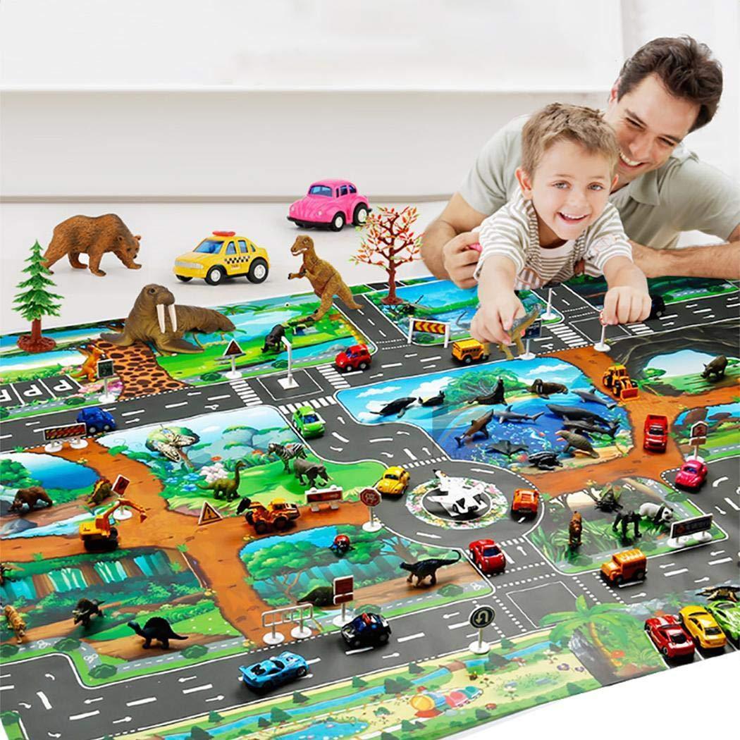 70% OFF  Kids Carpet Playmat, 83 x 57cm