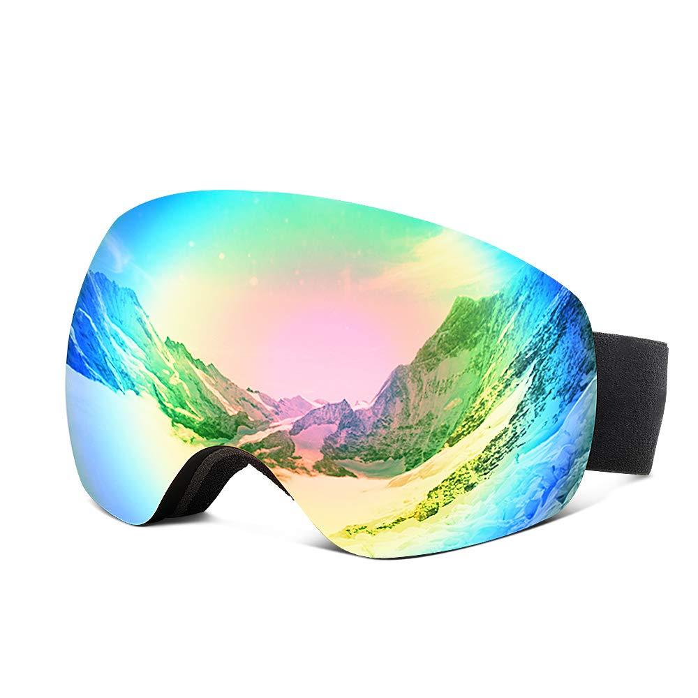 82% OFF Issyzone Ski Goggles, Skiing Goggles Snow Anti-fog 100% UV400 Protection