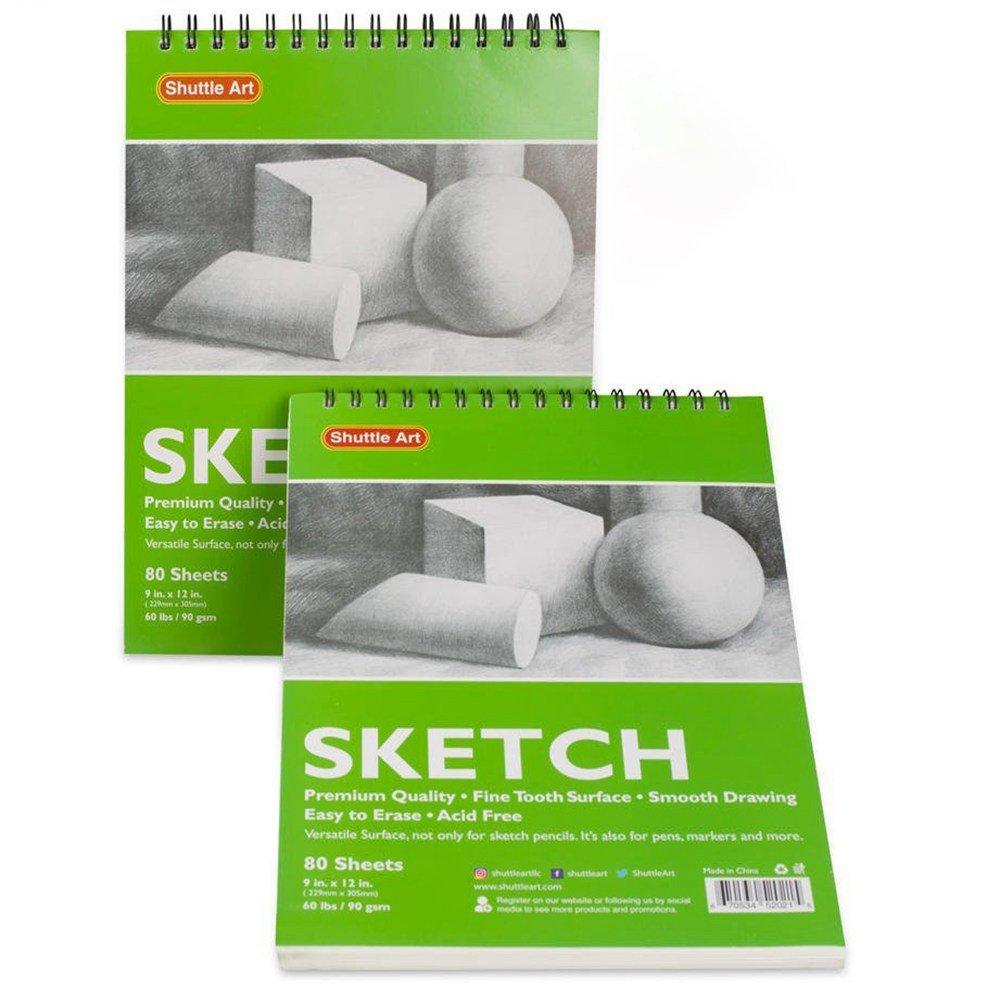 40% OFF Shuttle Art Artists Sketch Books, Pack of 2