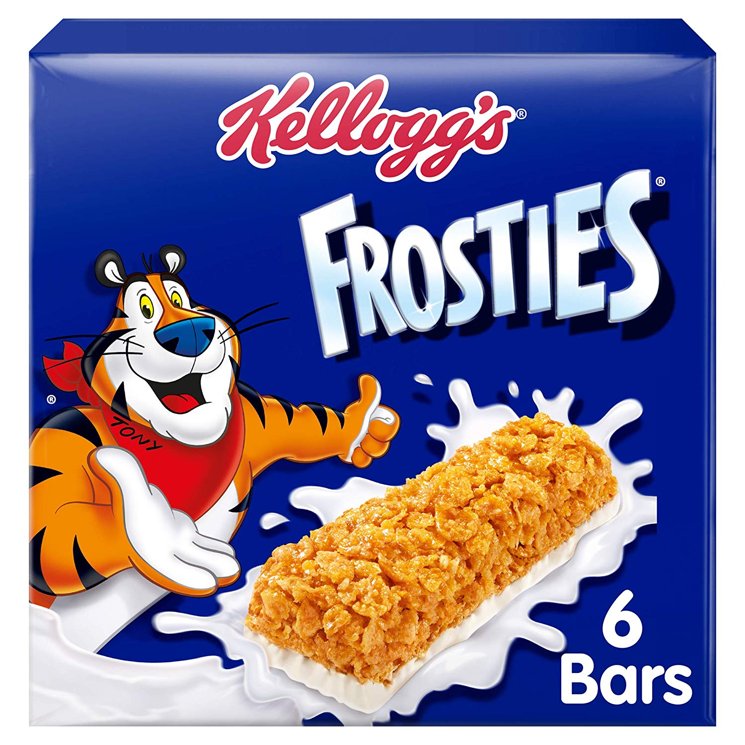 Kellogg's Frosties Cereal Milk Bars x 42