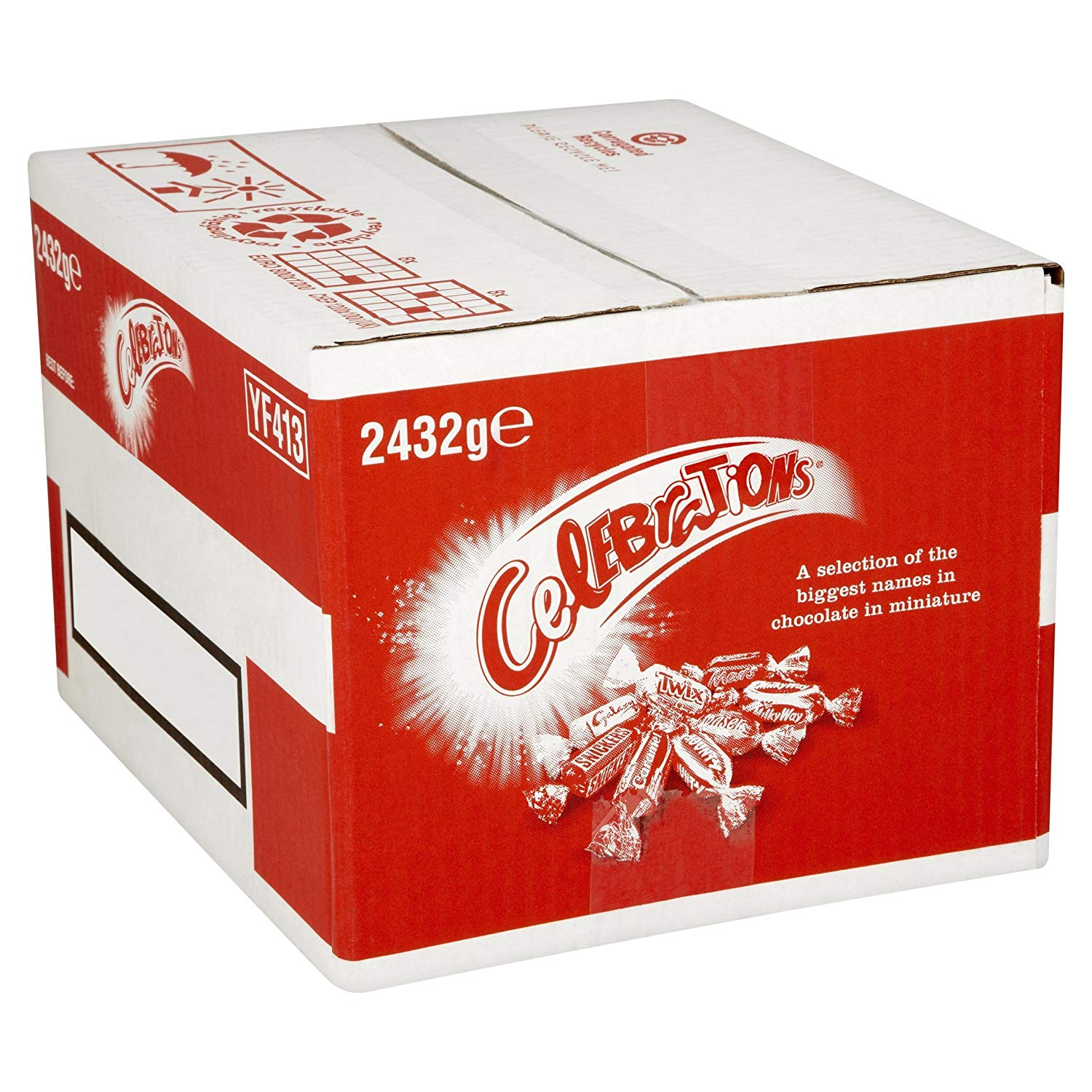 Celebrations Chocolate Bulk Case, 2.432 kg, £17.59
