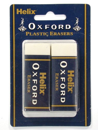 Helix Oxford Twin Pack of Erasers £0.75 for Prime