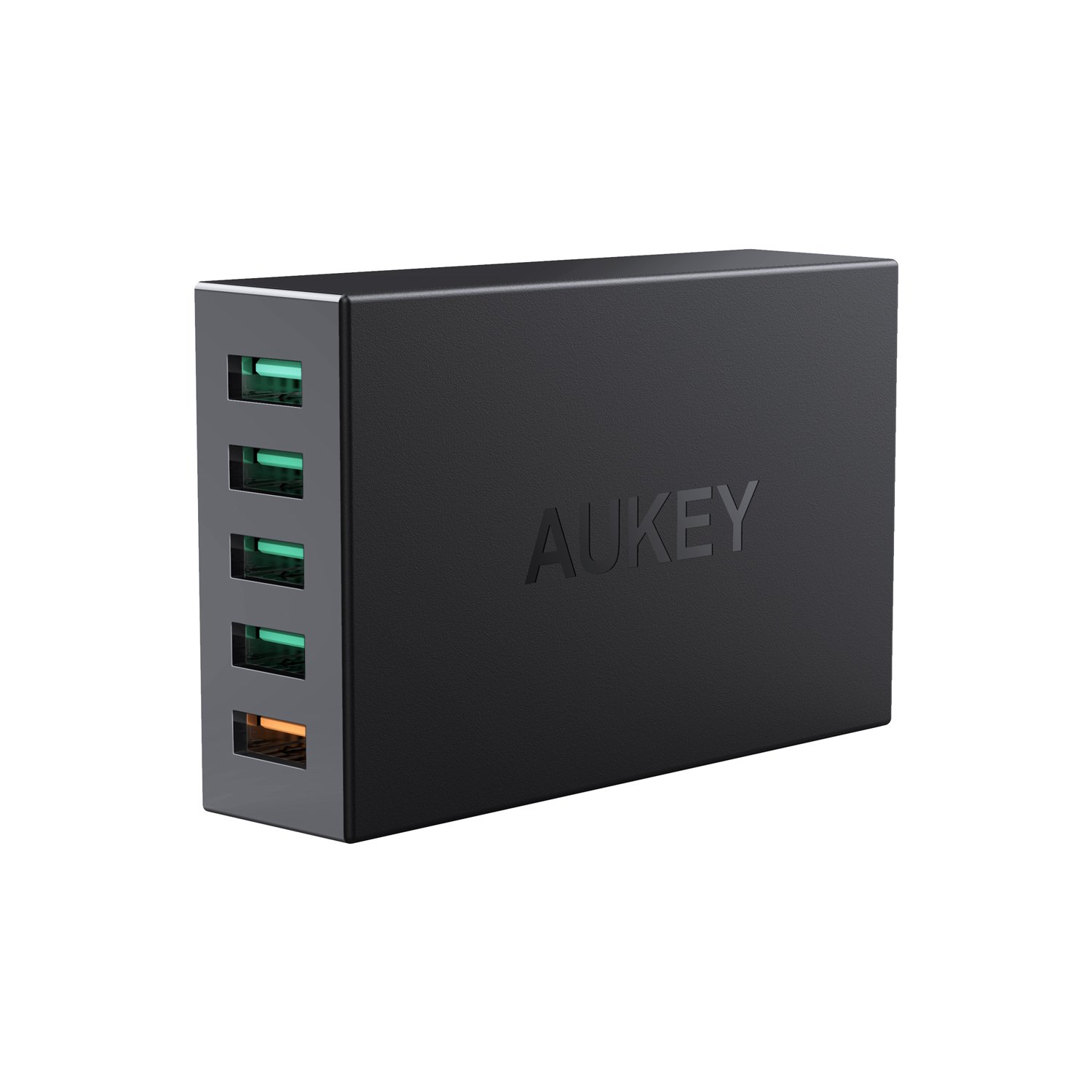 AUKEY Quick Charge 3.0 5-Port USB Charger with 55.5W USB Charging Station