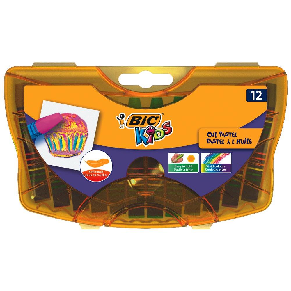 Bic Kids Oil Pastels Durable Case 12 pack