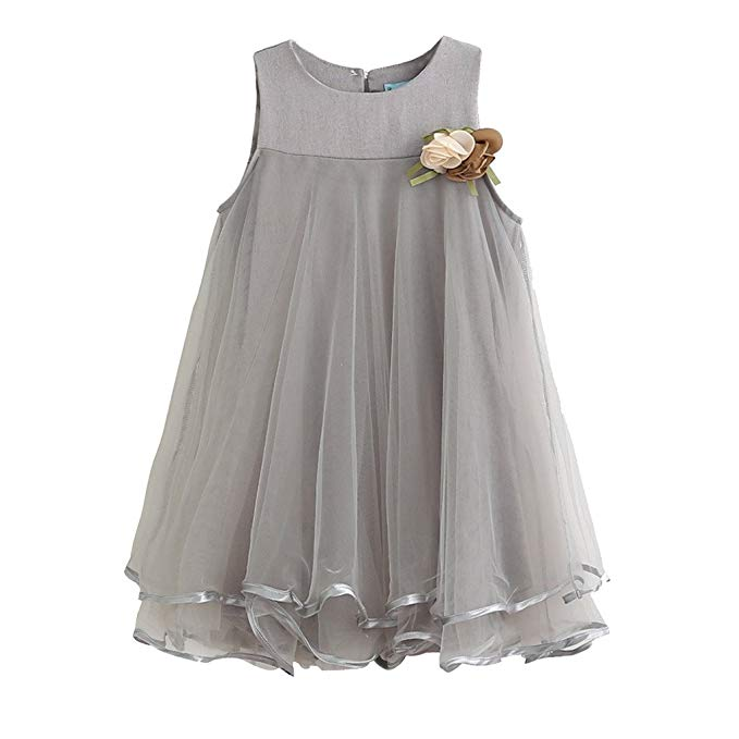 Baby Girl Dress Sleeveless (4-5 Year Only)