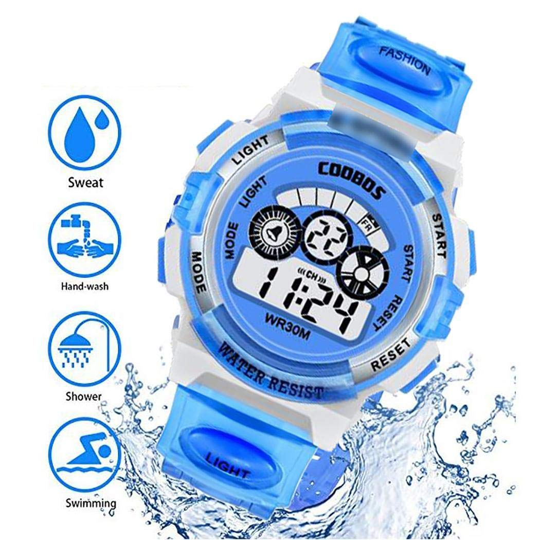 80% off cokil Kids Waterproof Digital Watch LED Electronic Wristwatch Sports Watch