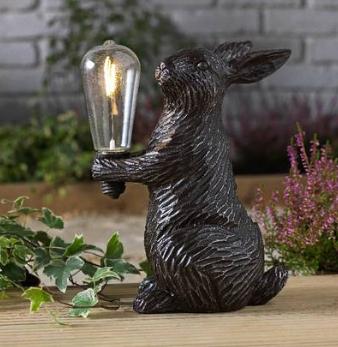 Solar LED Resin Hare – Bulbs 1 x (included) @Argos