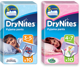Free Huggies DryNite Nappies