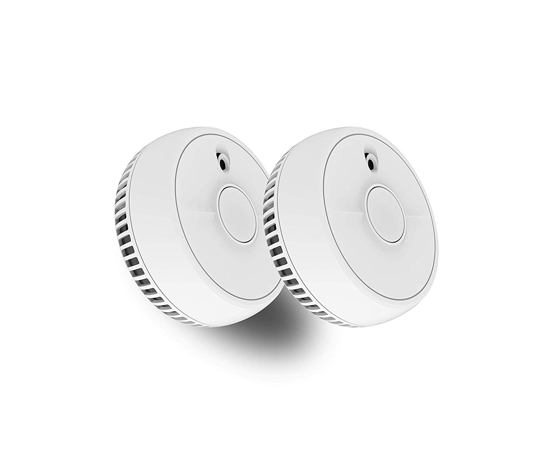 FireAngel SB1-TP-R Smoke Alarm, 2 Pack