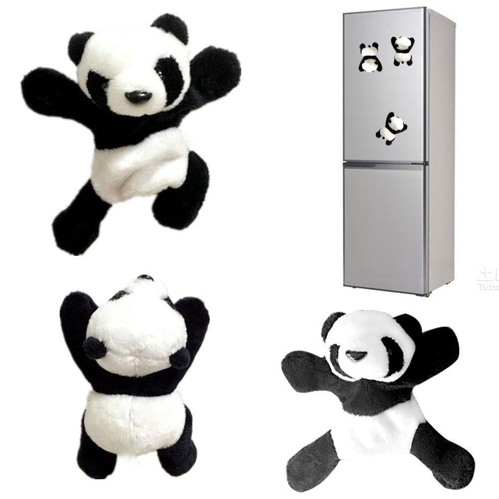 Plush Panda Fridge Magnet Refrigerator Sticker £1.66 + FREE delivery