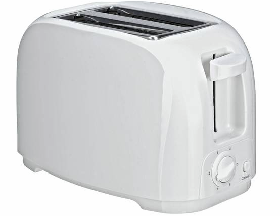 Half Price Simple Value 2 Slice Toaster – White @Argos