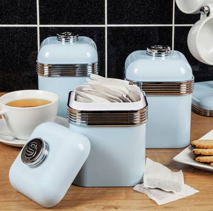 Swan Canister Set @Argos