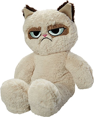 Rosewood Pet Products Grumpy Cat Floppy Plush Dog Toy @Amazon