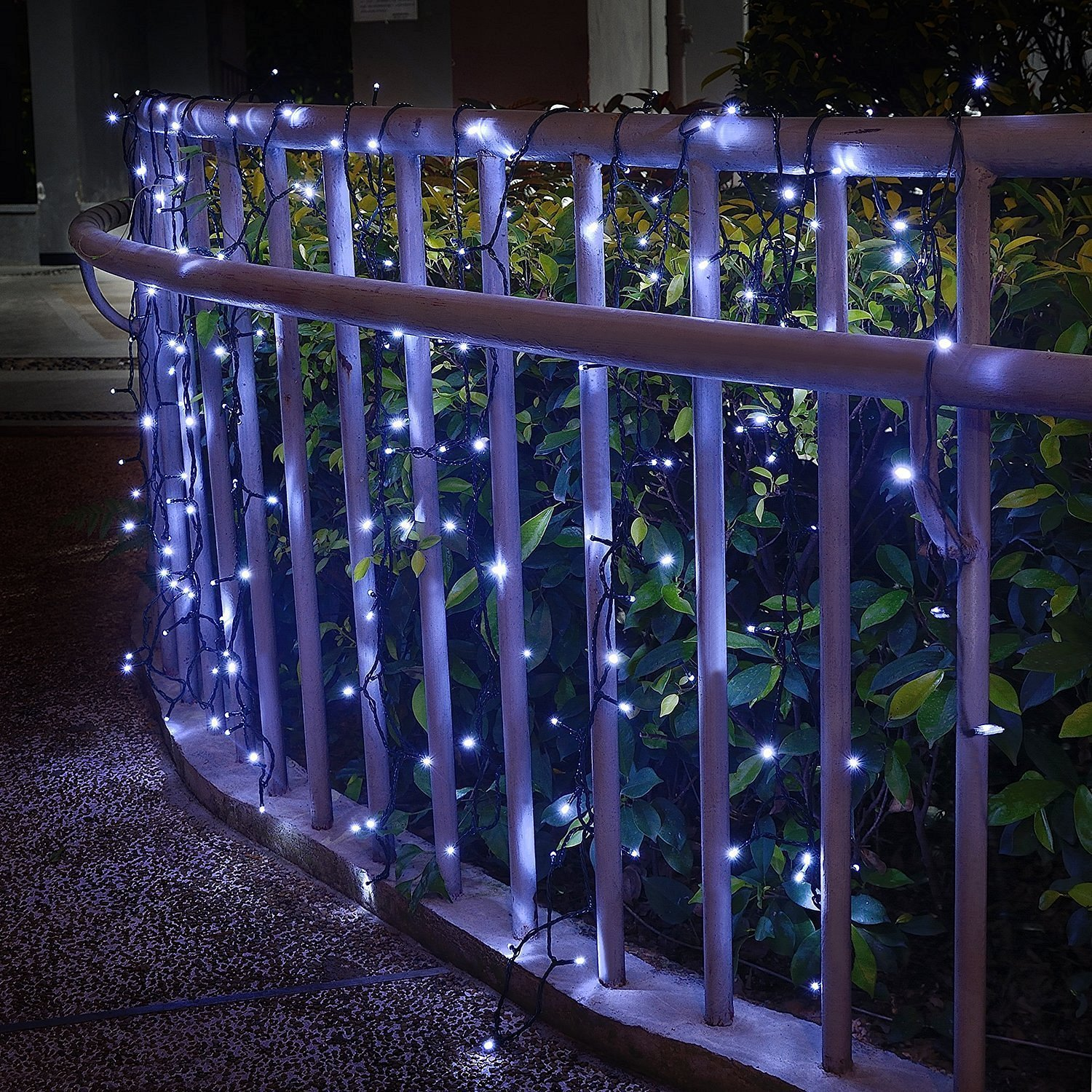 Outdoor Solar String lights, Waterproof 200 LED Fairy Lights String