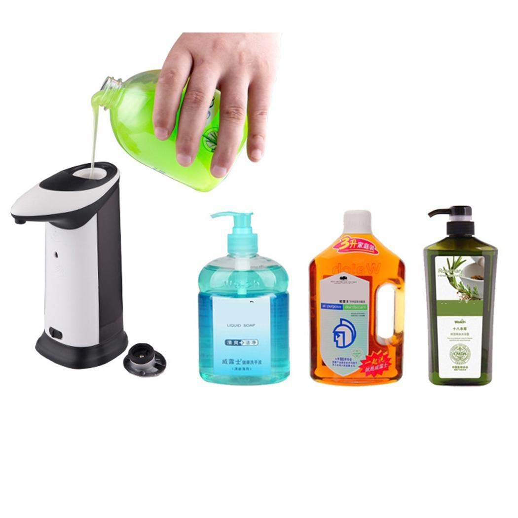 Tiowea Automatic Foaming Hand Wash with Touchless Liquid Soap Dispenser Soap Dispenser