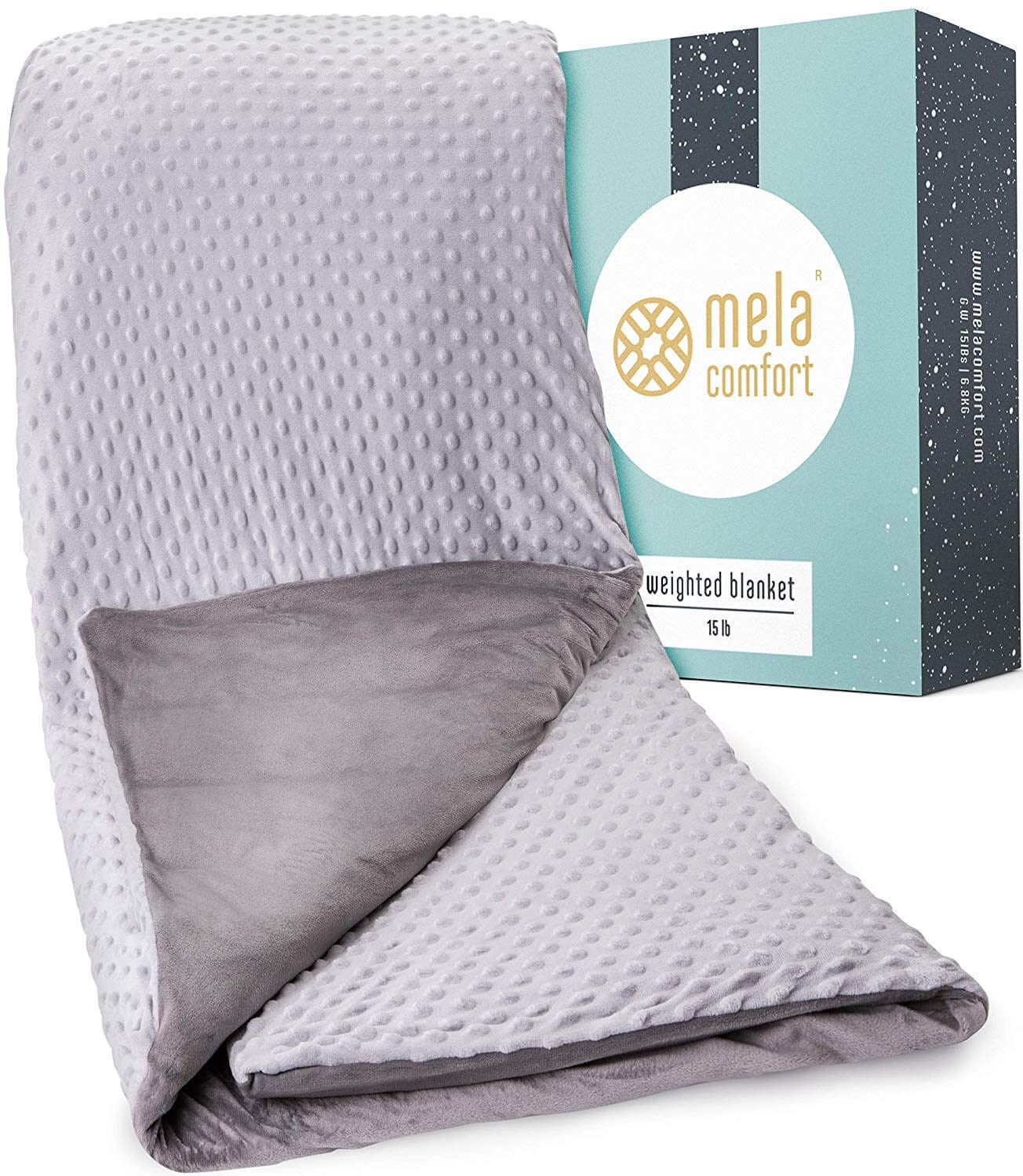 Weighted Blanket Opti-Relief – Supports Healthy Sleep & Can Help Reduce Stress