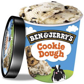 Ben & Jerry's Classic Cookie Dough Ice Cream 500ml £2 @Iceland