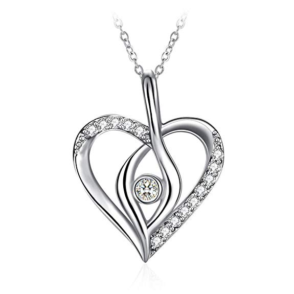 90% off ZHULERY Sterling Silver Pendant Necklace