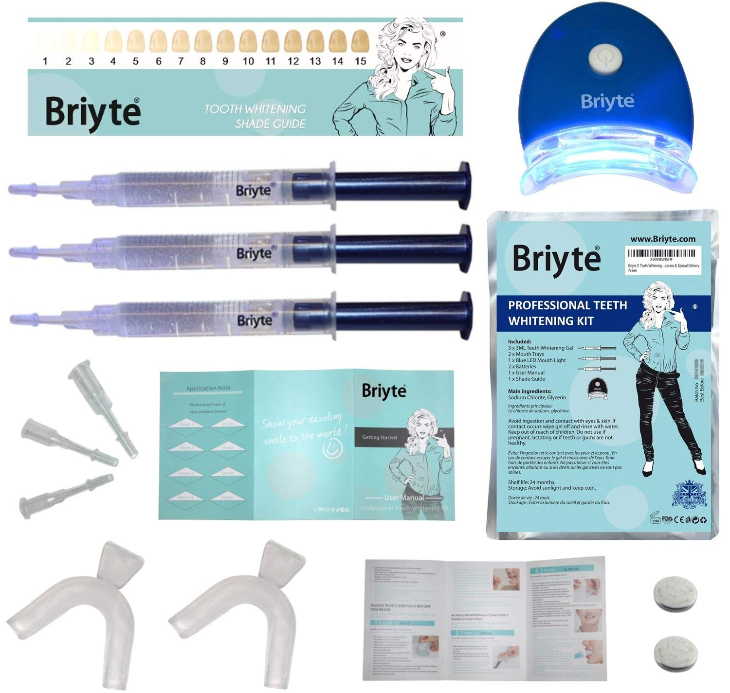 Briyte  HOME Teeth Whitening Kit