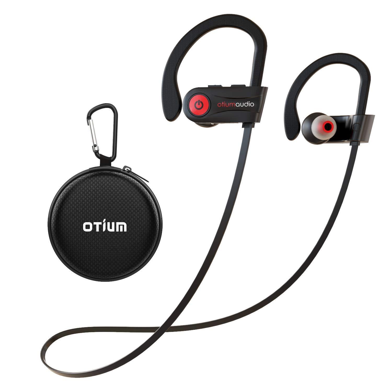 Otium Wireless Earphones Running Sport Headphones IPX7 Waterproof Earbuds