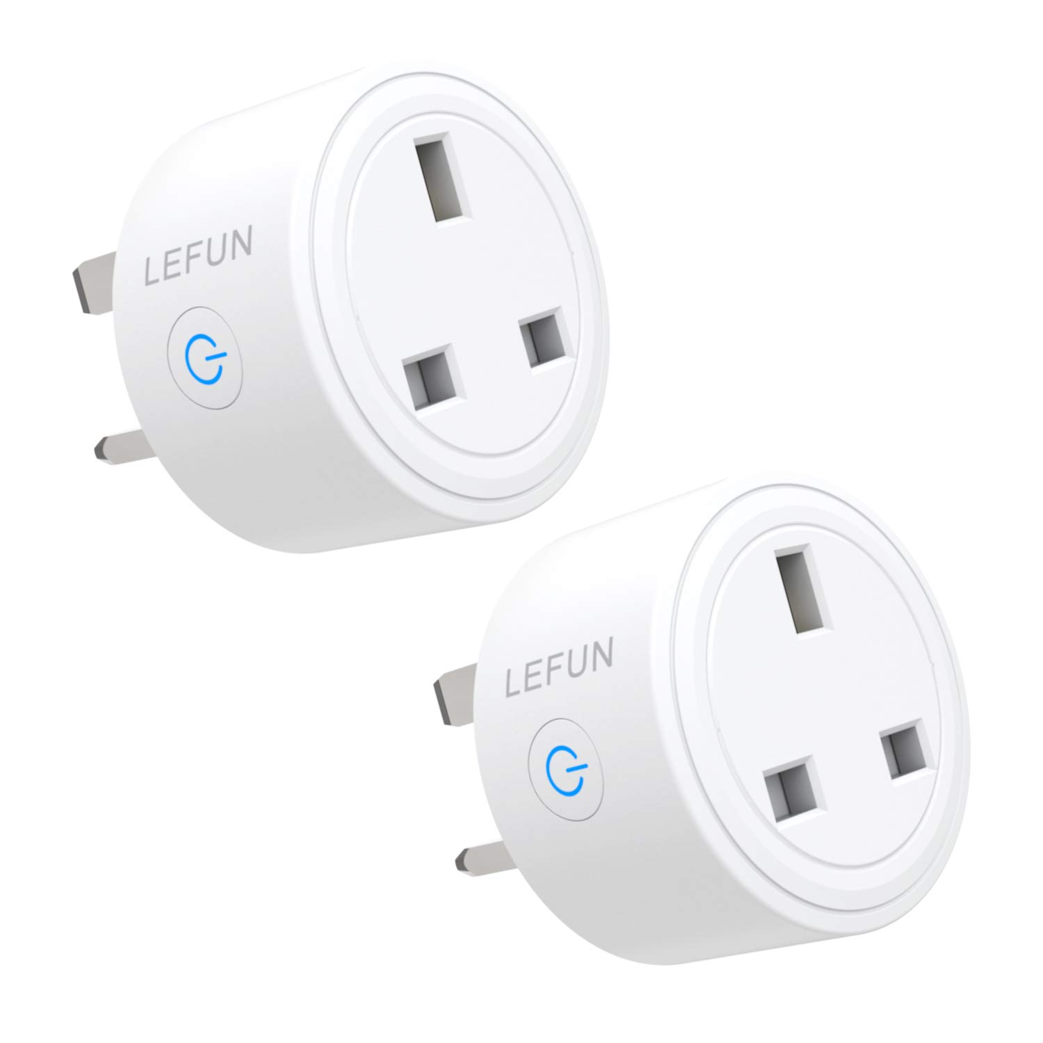Smart Plug Wireless Remote Control WiFi Outlets Compatible with Alexa Google Home IFTTT (2 pcak)