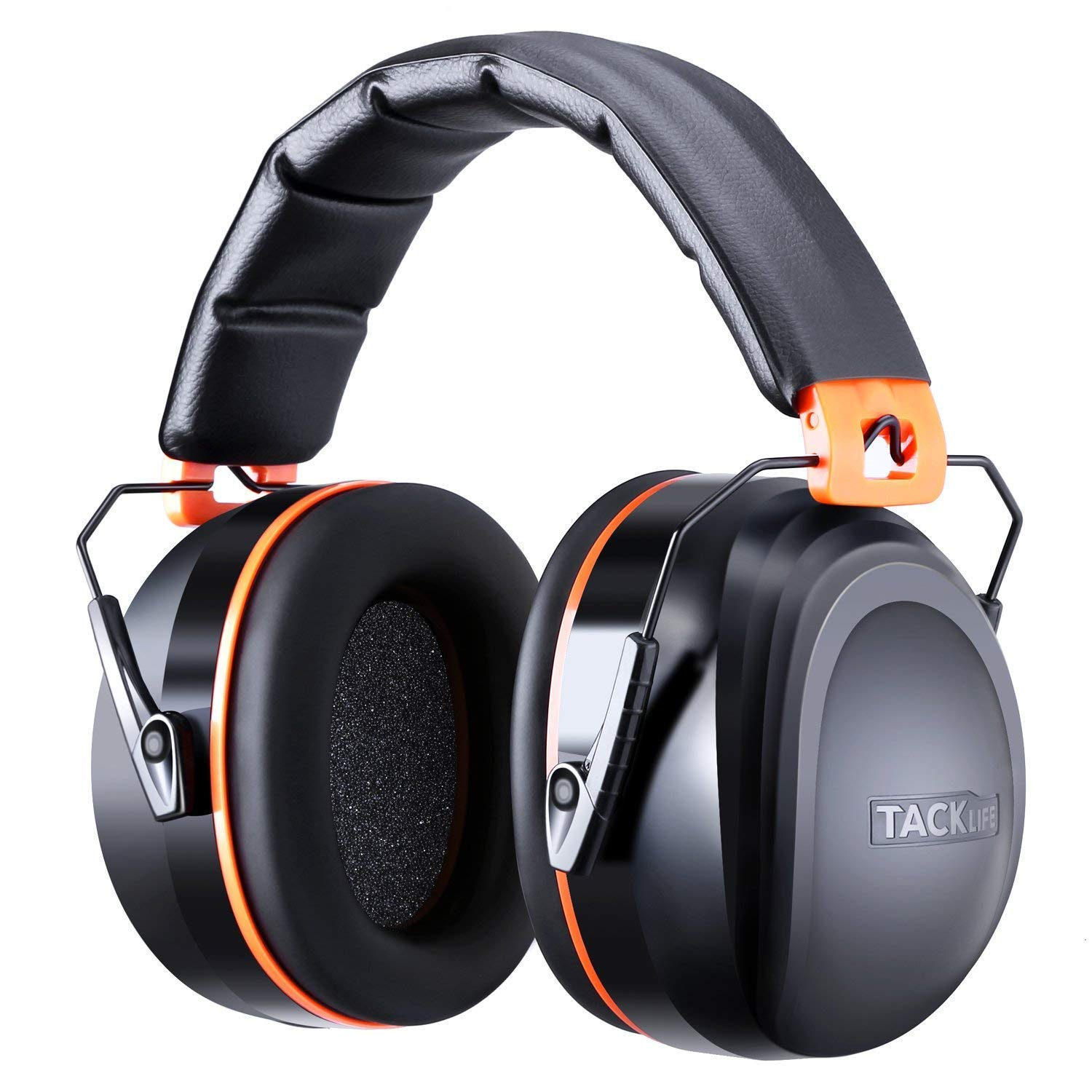 Tacklife HNRE1, Noise Canceling Ear Muffs for Shooting, Construction or Yard Work