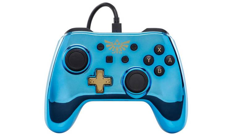 Wired Controller for Nintendo Switch – Chrome Zelda at argos