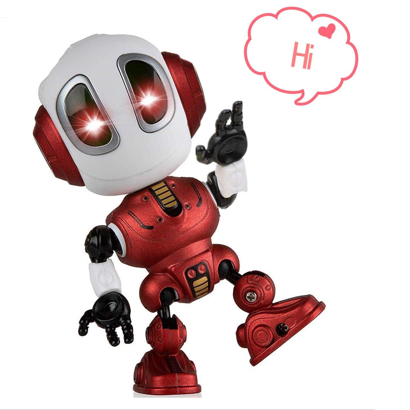 ALLCELE Fun Recording Talking Robot for Boys little Kids toys