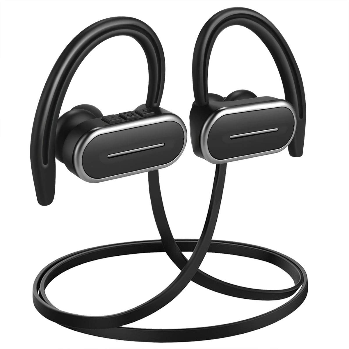 yobola MP3 Palyer Bluetooth Headphones, Wireless In Ear Sports Bluetooth Headphones Sweatproof Earphones