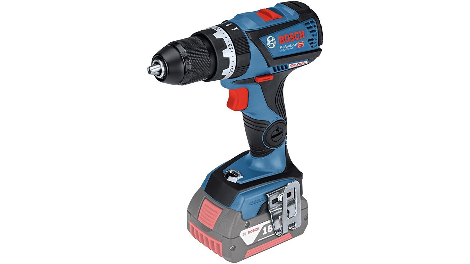 Bosch Professional GSB Brushless Combi Drill Driver, 18 V @Amazon