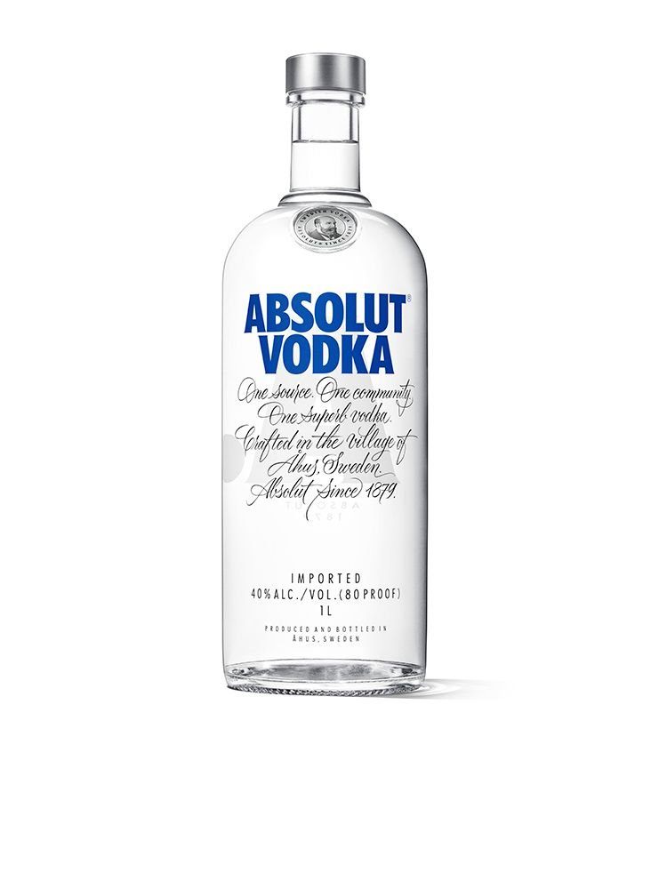Absolut Vodka, 1 L @Amazon