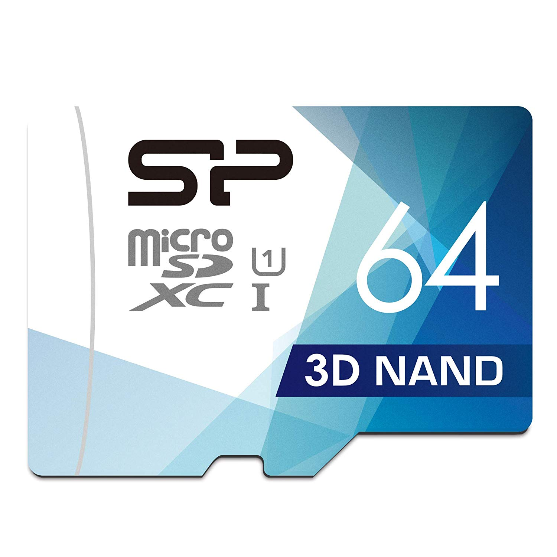 Silicon Power 64GB MicroSDXC UHS-1 Memory Card £6.99 @Amazon