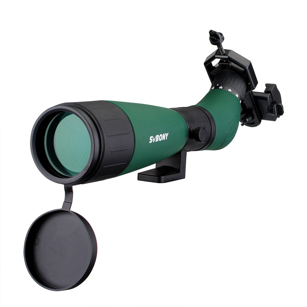 Svbony SV18 Spotting Scope 20-60×60 Portable Lightweight Angled BK7 Telescope Spotting Scope