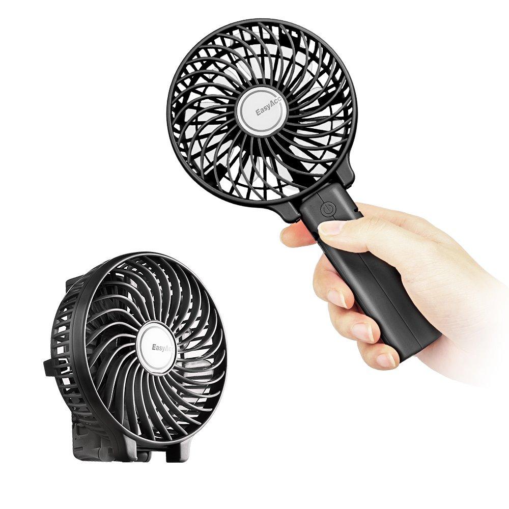 EasyAcc Handheld Electric Fans Mini Portable Outdoor Fan